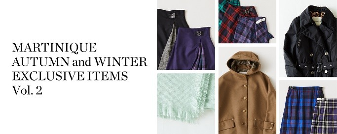 AUTUMN and WINTER EXCLUSIVE ITEMS Vol.2