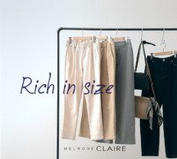 "WEB LIMITED ""Bottoms rich in size"""